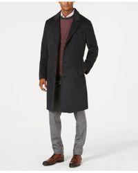 London Fog - Signature Wool-blend Overcoat - Lyst