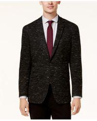 Kenneth Cole Reaction - Men's Slim-fit Dark Grey Soft Tailored Sport Coat - Lyst