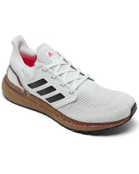 adidas Ultraboost 20 Running Sneakers From Finish Line - White