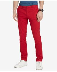 Tommy Hilfiger - Th Flex Stretch Custom-fit Chino Pant, Created For Macy's - Lyst