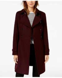 Tommy Hilfiger - Double-breasted Peacoat - Lyst