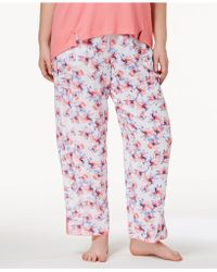 Alfani - Plus Size Woven Printed Pajama Pants, Created For Macy's - Lyst