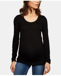 Isabella Oliver - Maternity Ruched Top - Lyst