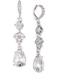 Givenchy - Multi-crystal Drop Earrings - Lyst
