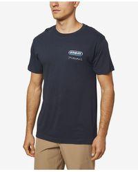 O'neill Sportswear Rock On T-shirt - Blue