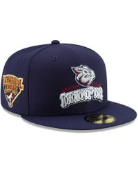 official photos 1f54f ca8f5 KTZ - Lehigh Valley Ironpigs League Patch 59fifty-fitted Cap - Lyst