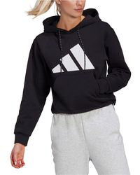 adidas Logo Hoodie - Black
