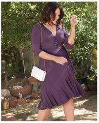 Kiyonna - Plus Size Whimsy Wrap Dress - Lyst