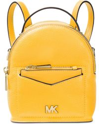 63db547234 Michael Kors Jessa Small Embellished Leather Convertible Backpack in ...