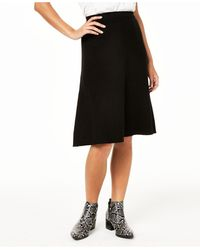 Charter Club Cashmere A-line Skirt, Created For Macy's - Black