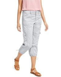 Style & Co. Curvy-fit Cargo Capri Pants, Created For Macy's - Multicolor
