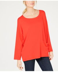 Eileen Fisher - Stretch Jersey Oversized Tunic, Regular & Petite - Lyst