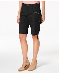 Style & Co. - Petite Cargo Shorts, Created For Macy's - Lyst