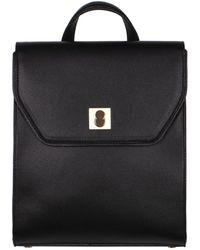 Alfani Circle Lock Backpack, Created For Macy's - Black