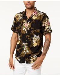 Guess - Floral Shirt - Lyst