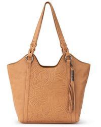 The Sak Sierra Leather Shopper - Brown
