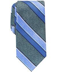 Perry Ellis Payson Stripe Tie - Green