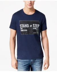 Kenneth Cole Reaction - Graphic-print T-shirt - Lyst
