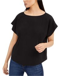 Eileen Fisher Linen Tunic - Black