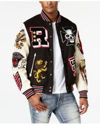 Reason - Street Veteran Varsity Jacket - Lyst