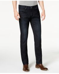 INC International Concepts Inc Stretch Slim Straight Jeans, Created For Macy's - Blue