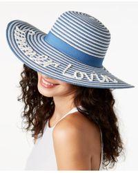 August Accessories - Summer Lovin' Floppy Hat - Lyst