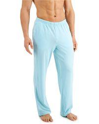 Alfani Quick-dry Pyjama Pants, Created For Macy's - Blue
