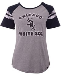 47 Brand Chicago White Sox Fly Out Raglan T-shirt - Multicolor