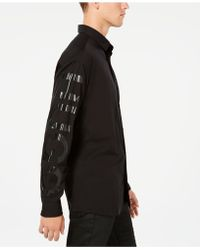BOSS - Oversized Graphic Shirt - Lyst