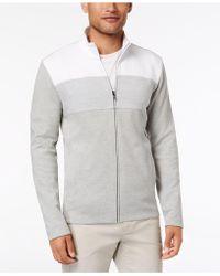 Alfani - Colorblocked Full-zip Jacket, Created For Macy's - Lyst