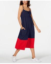3bbafbe7ee9c Tommy Hilfiger Colorblocked Striped Sheath Dress - Lyst