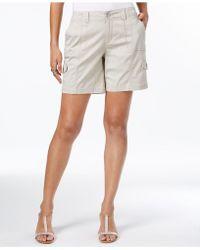 Style & Co. Comfort-waist Cargo Shorts - Multicolor