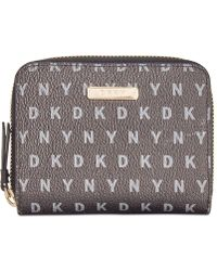 DKNY - Bryant Small Carryall Wallet - Lyst