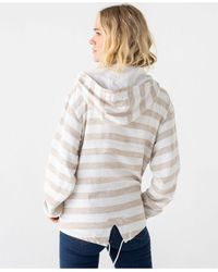 Thread & Supply Thread Supply Striped Windbreaker Pullover - Multicolor