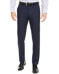 Alfani - Slim-fit Stretch Solid Suit Pants, Created For Macy's - Lyst