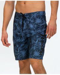 Hurley - Spray Palms Board Shorts - Lyst