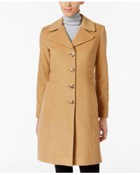 Anne Klein - Wool-blend Walker Coat - Lyst