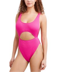 BCBGeneration Cut Out One-piece Swimsuit - Pink