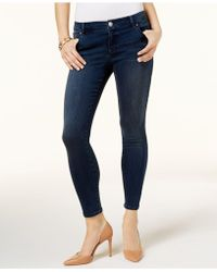 INC International Concepts - Petite Galaxy Embellished Skinny Jeans - Lyst