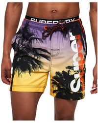 Superdry Beach Volley Swim Trunks - Multicolor