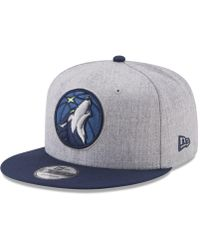 uk availability 56ba0 d65de KTZ Minnesota Timberwolves Combo Camo 9fifty Snapback Cap in Green for Men  - Lyst