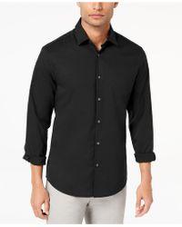 Alfani - Modern Solid Shirt - Lyst