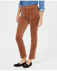 Charter Club - Lexington Corduroy Straight-leg Trousers, Created For Macy's - Lyst