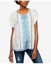 Ella Moss - Maternity Embroidered Top - Lyst