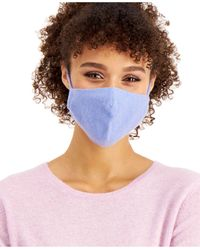 Charter Club Cashmere Ear Loop Facemask, Created For Macy's - Blue