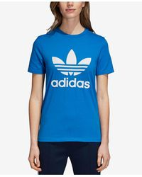 adidas Adicolor Cotton Trefoil T-shirt - Blue