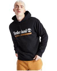 Timberland Essential Established 1973 Hoodie - Black