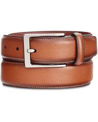 Perry Ellis - Big & Tall Portfolio Amigo Leather Dress Belt - Lyst