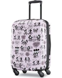"American Tourister - Minnie & Mickey Mouse 21"" Carry-on Spinner - Lyst"