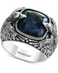 Effy Collection - Pietersite Double Eagle Ring In Sterling Silver - Lyst